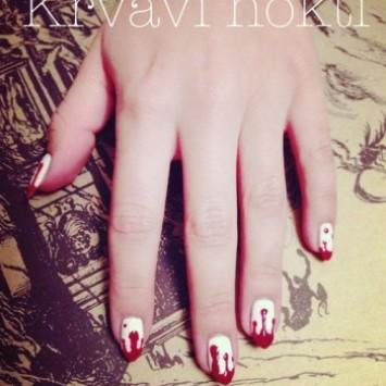 Krvavi nokti za Halloween!