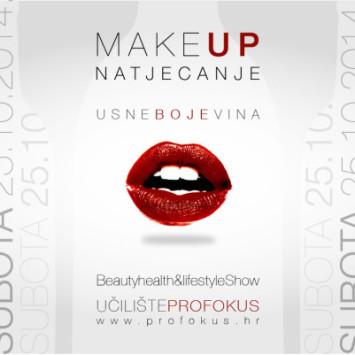"""Make up natjecanje – """"Usne boje vina"""""""