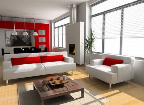 red-white-themed-interior