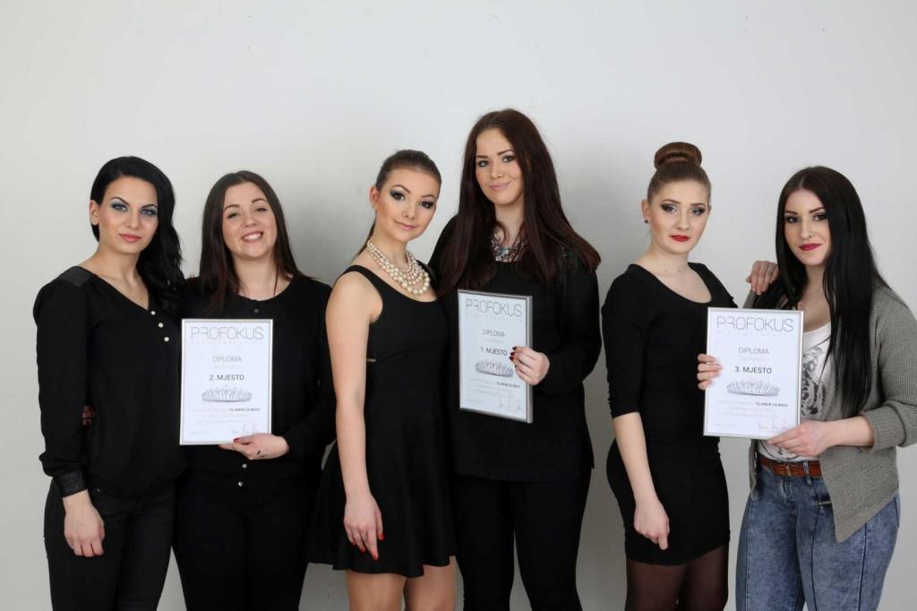 Make up natjecanje Glamur za Miss