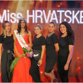 Profokusovi vizažisti na izboru za Miss Hrvatske za Miss Svijeta