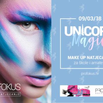 """Make up natjecanje s temom """"Unicorn Magic""""!"""