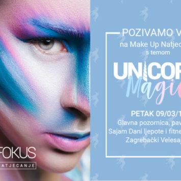 """Pozivamo Vas na Make Up Natjecanje """"Unicorn Magic"""""""