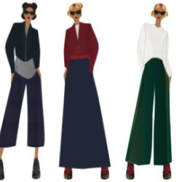 Kolekcija Profokusovih modnih dizajnerica na Fashion weeku: ill/est