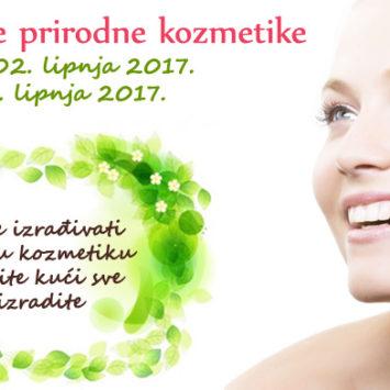 Tečaj izrade prirodne kozmetike – Zagreb i Split