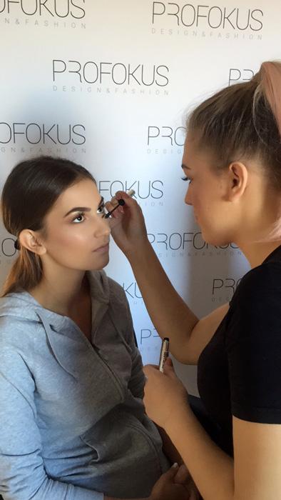 Pripreme za Izbor za Miss Hrvatske - Učilište Profokus