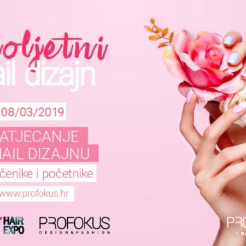 Natjecanje u Nail Designu – Proljetni Nail Dizajn!