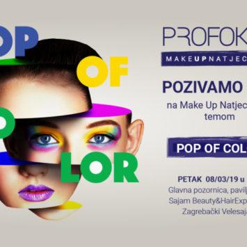 """Pozivamo Vas Na Make Up Natjecanje """"Pop Of Color"""""""
