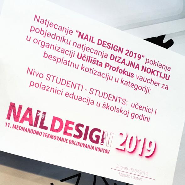 Natjecanje u Nail designu - Učilište Profokus